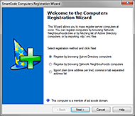 Computers Registration Wizard